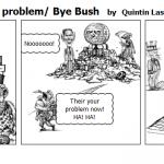 America is fatYour problem Bye Bush