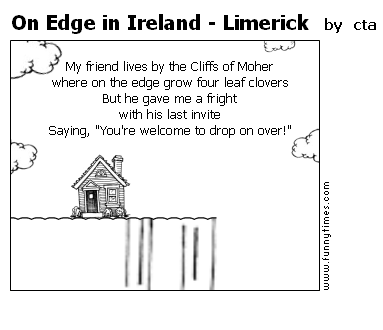 On Edge in Ireland - Limerick by cta