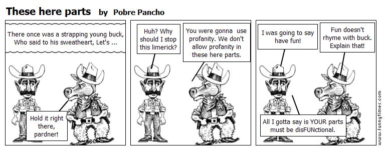 These here parts by Pobre Pancho
