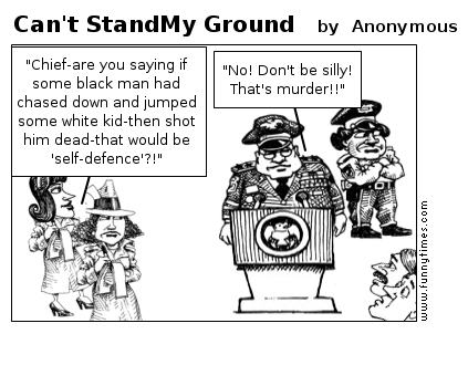 Can't StandMy Ground by Anonymous