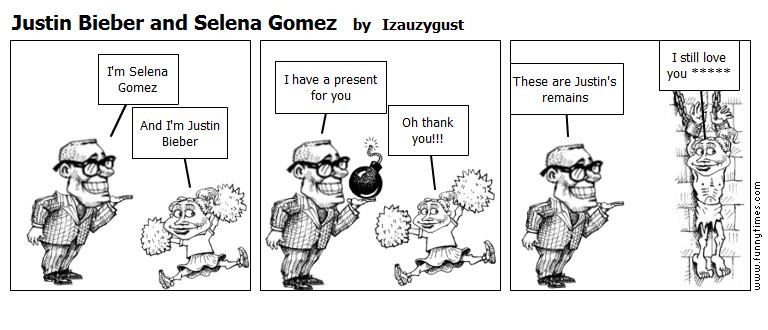 Justin Bieber and Selena Gomez by Izauzygust