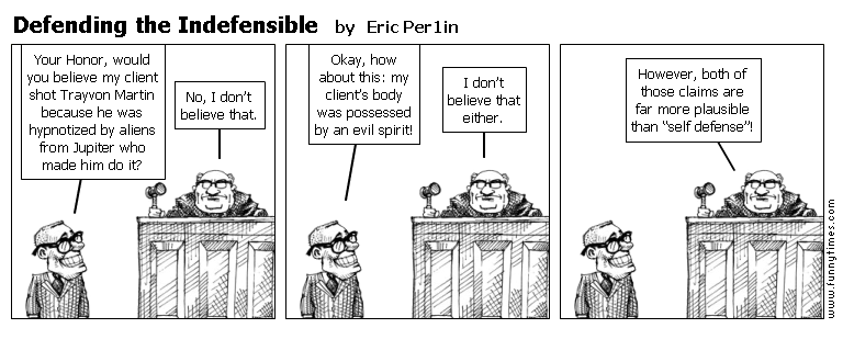 Defending the Indefensible by Eric Per1in