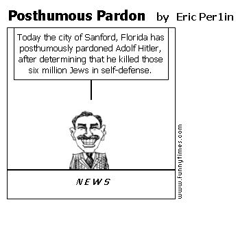 Posthumous Pardon by Eric Per1in
