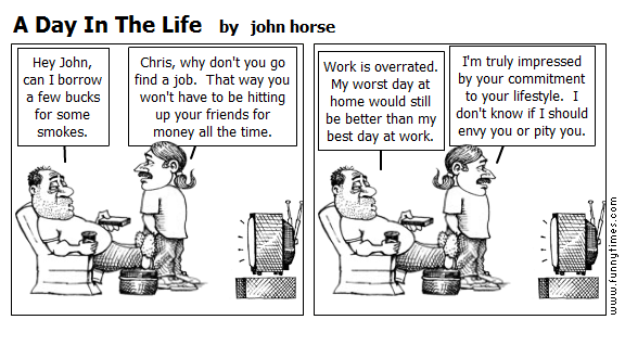 A Day In The Life by john horse