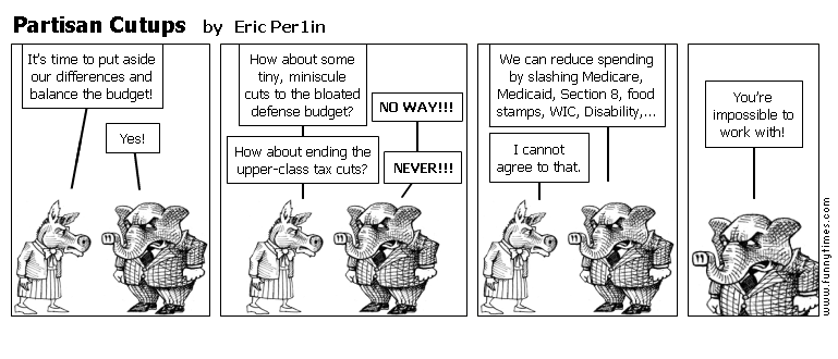 Partisan Cutups by Eric Per1in