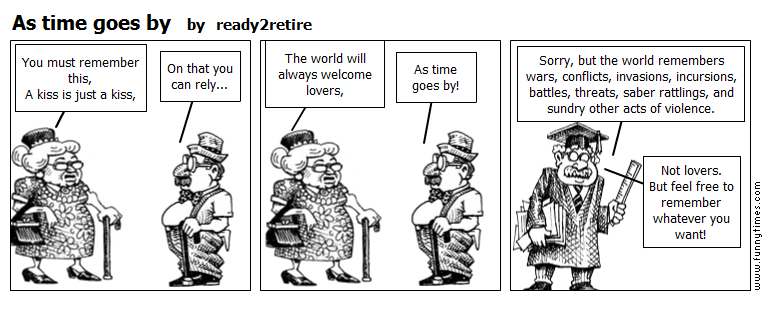 As time goes by by ready2retire