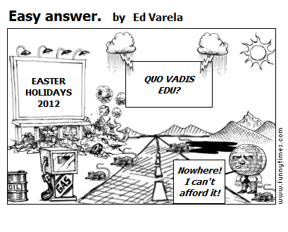 Easy answer. by Ed Varela