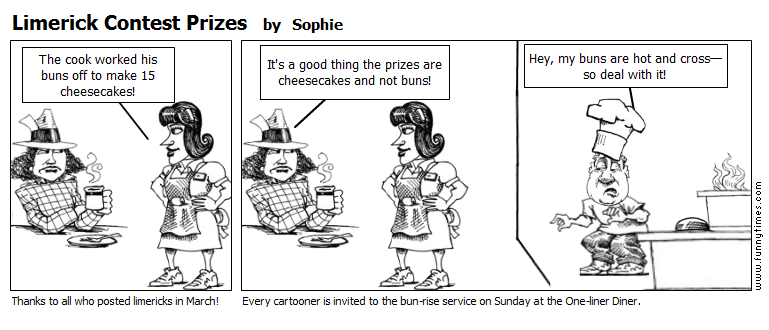 Limerick Contest Prizes by Sophie
