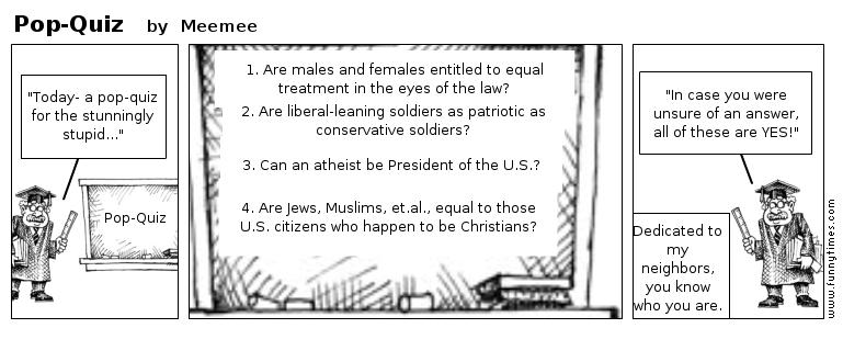 Pop-Quiz by Meemee