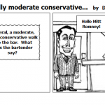 A liberally moderate conservative…