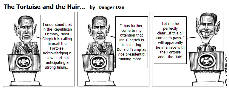 The Tortoise and the Hair... by Danger Dan