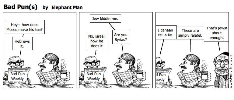 Bad Puns by Elephant Man