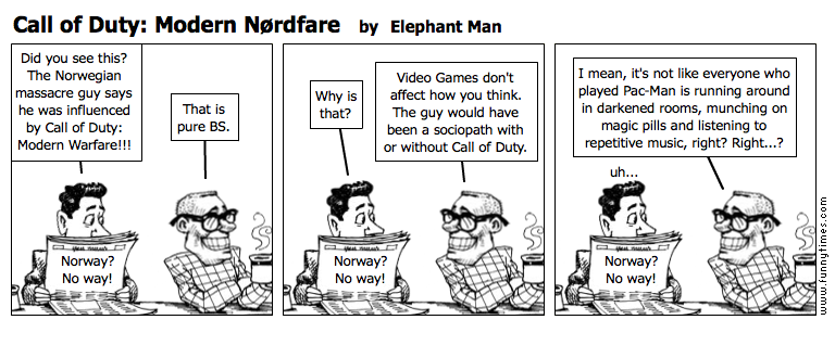 Call of Duty Modern Nrdfare by Elephant Man