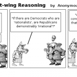 Liberal Using Right-wing Reasoning