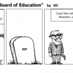 """Day after """"Brown v Board of Education"""""""