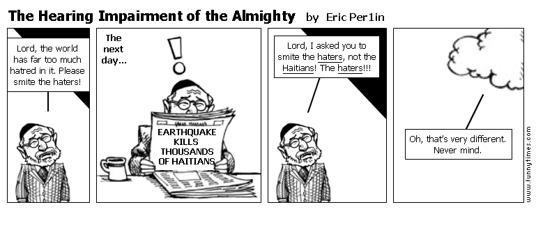 The Hearing Impairment of the Almighty by Eric Per1in