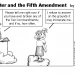 Saint Peter and the Fifth Amendment