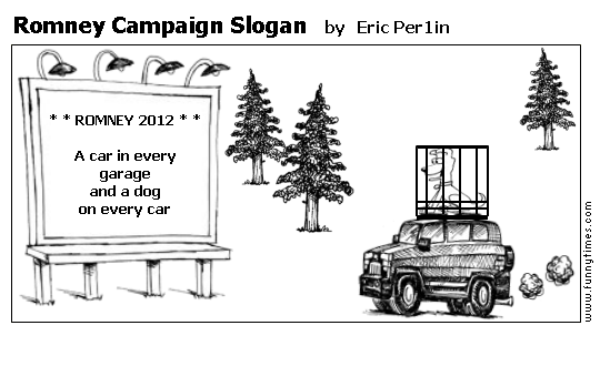 Romney Campaign Slogan by Eric Per1in