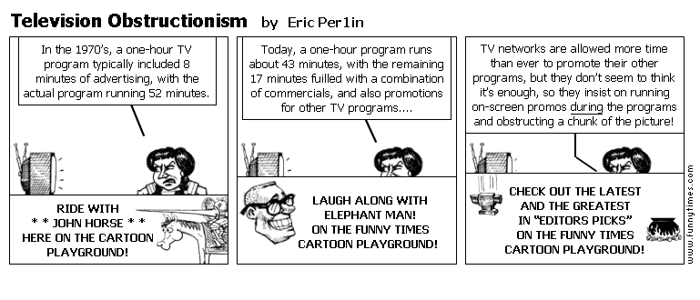 Television Obstructionism by Eric Per1in
