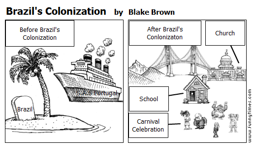Brazil's Colonization by Blake Brown