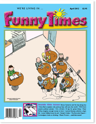 Funny Times April 2012 issue cover