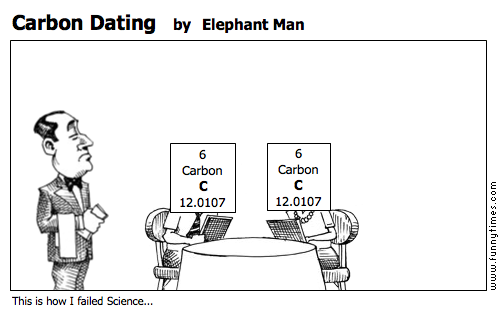Carbon Dating by Elephant Man