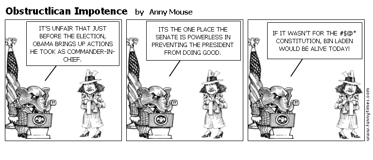 Obstructlican Impotence by Anny Mouse