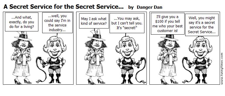 A Secret Service for the Secret Service. by Danger Dan