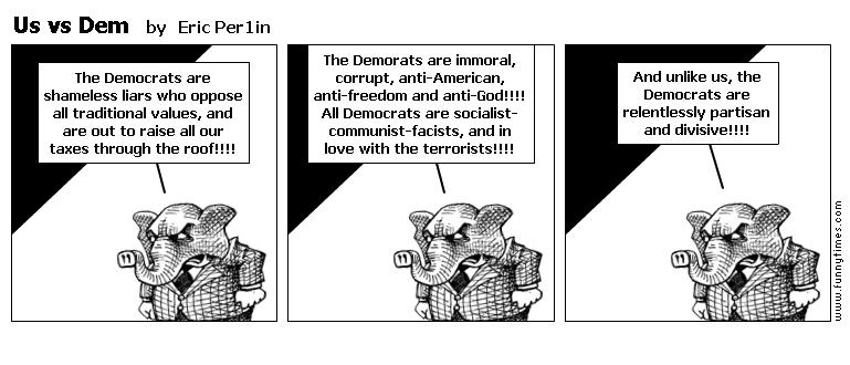 Us vs Dem by Eric Per1in