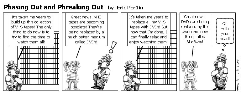 Phasing Out and Phreaking Out by Eric Per1in