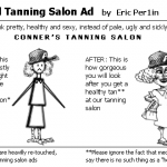 Typical Tanning Salon Ad