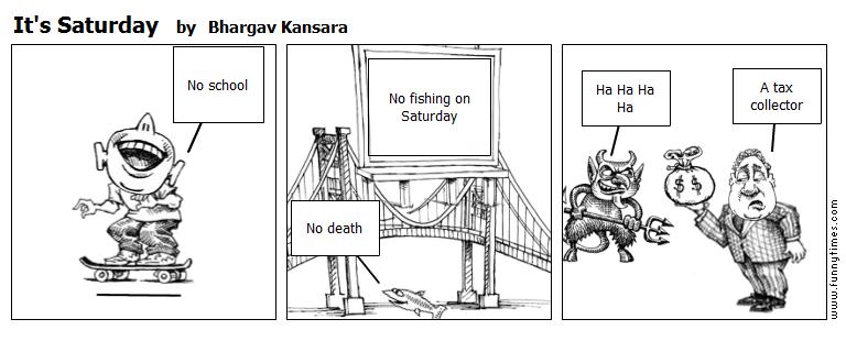 It's Saturday by Bhargav Kansara