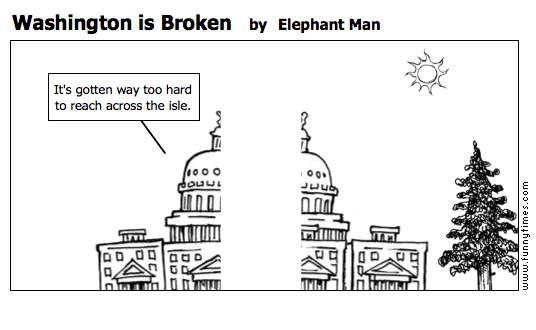 Washington is Broken by Elephant Man