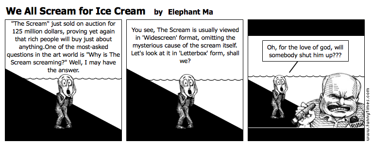 We All Scream for Ice Cream by Elephant Ma