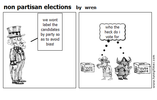 non partisan elections by wren