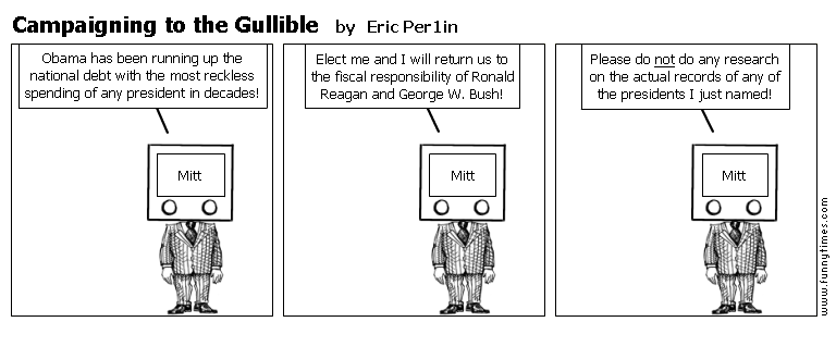 Campaigning to the Gullible by Eric Per1in