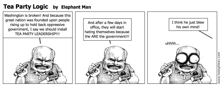 Tea Party Logic by Elephant Man