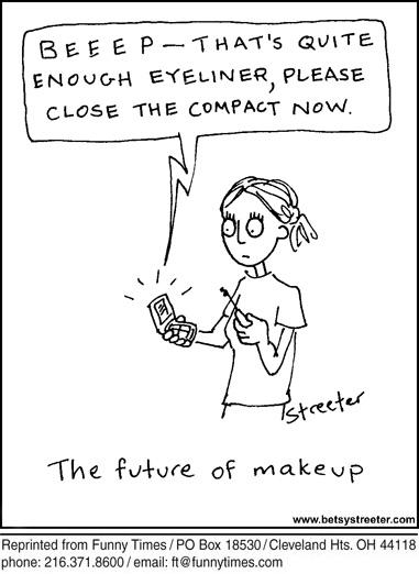 Funny streeter device technology  cartoon, May 02, 2012