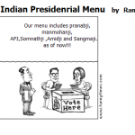 Indian Presidenrial Menu