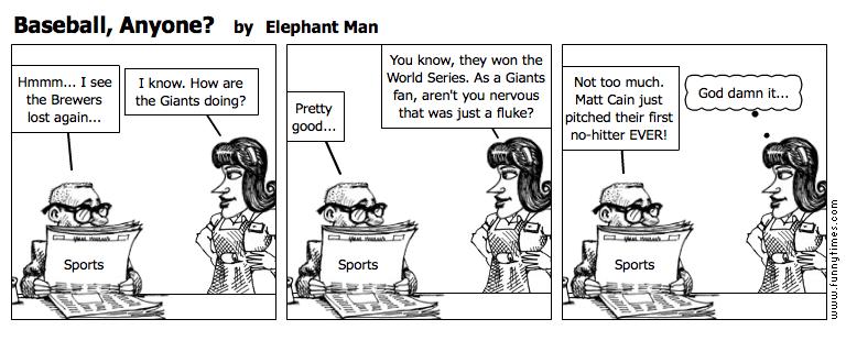 Baseball, Anyone by Elephant Man