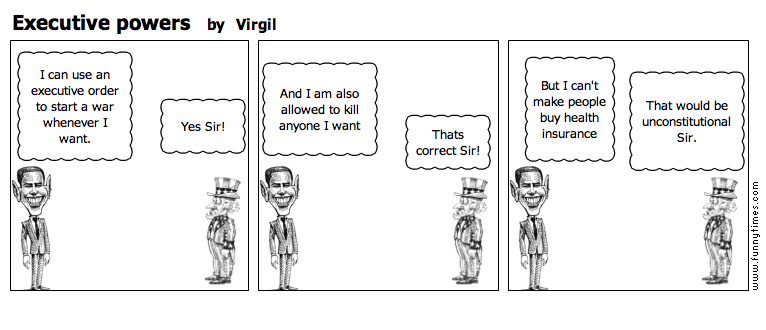 Executive powers by Virgil