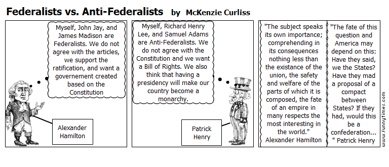 anti federalists essay