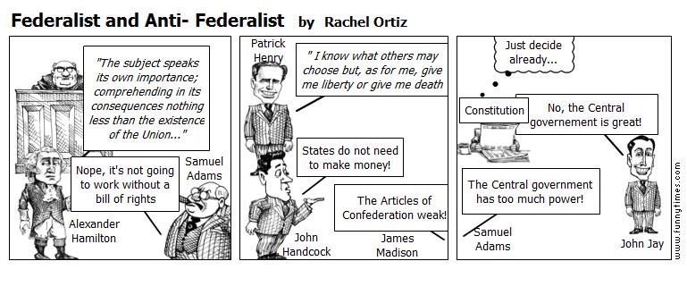 federalist versus antifederalists essay