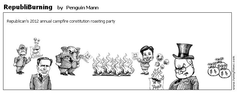 RepubliBurning by Penguin Mann