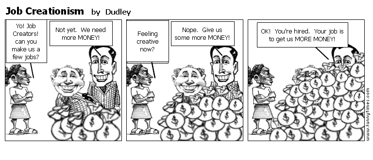 Job Creationism by Dudley