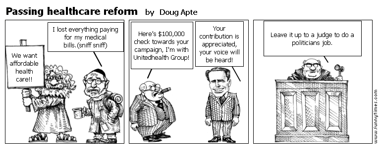 Passing healthcare reform by Doug Apte