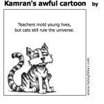 Kamran's awful cartoon