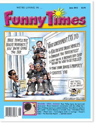 Funny Times June 2012 issue cover