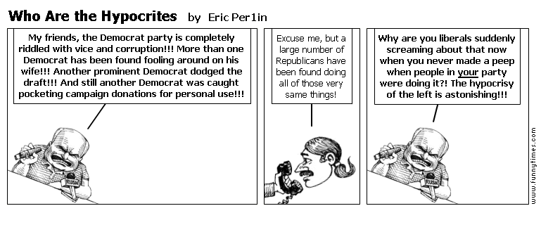 Who Are the Hypocrites by Eric Per1in