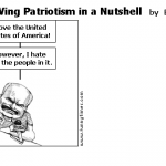 Right Wing Patriotism in a Nutshell